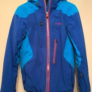 Kids Columbia coat/ jacket with down. Very warm